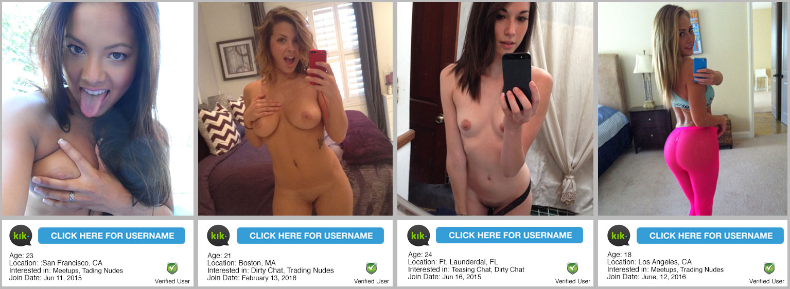 1 Kik Finder App For Kik Nudes And Usernames - Kik Girls-9007